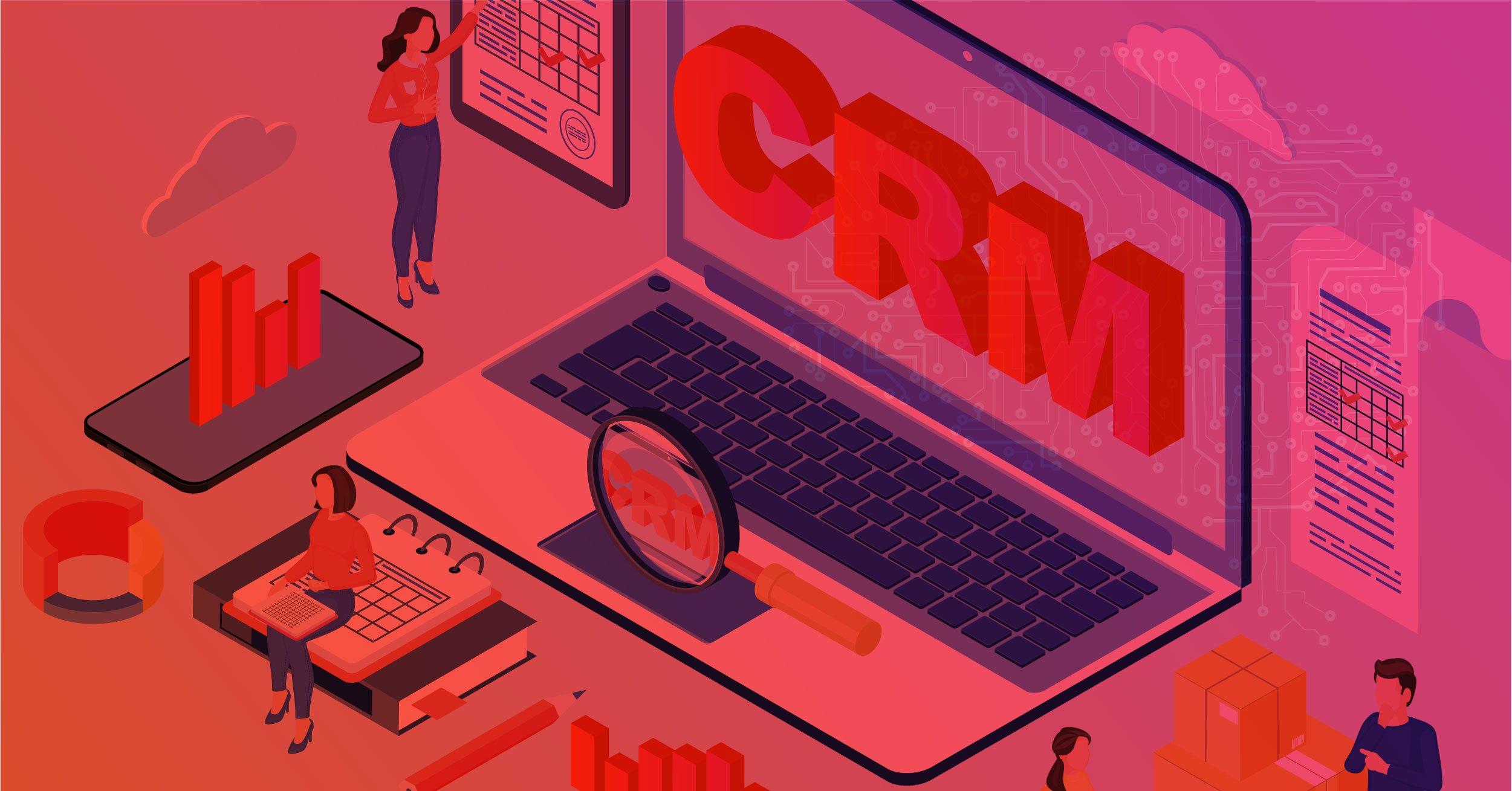 Ilustração de CRM