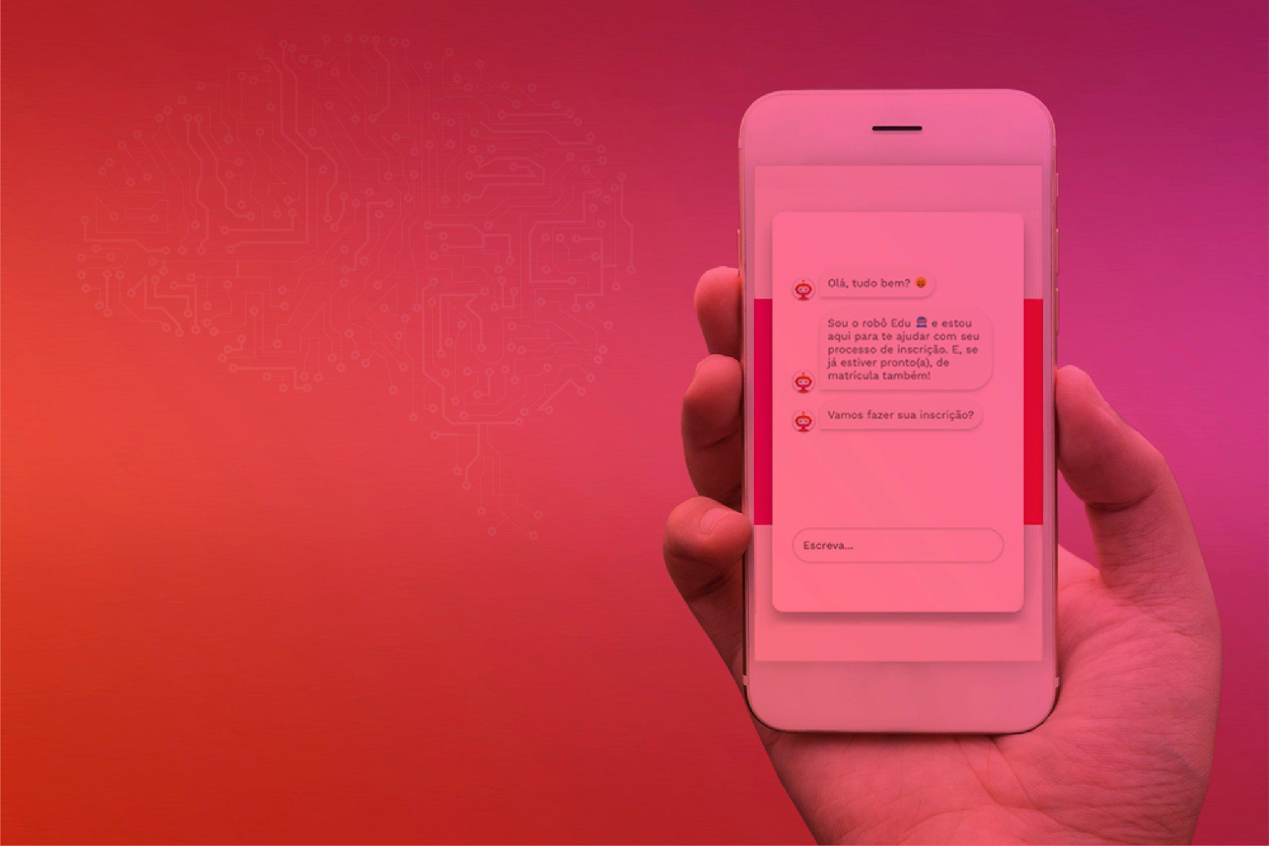 Conversational Design para interação com chatbots em um smartphone