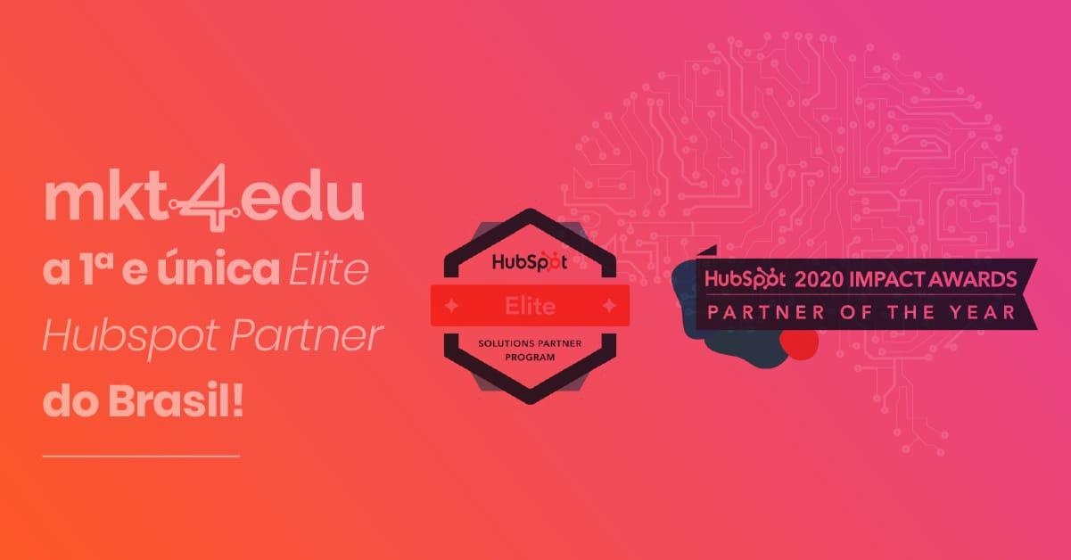 Mkt4edu: a 1ª e única Elite Hubspot Partner do Brasil
